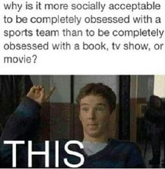 How. Books are much better than sports, in my opinion.