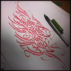 Strictly Kings & Better.  #Calligrapy by Pilot Parallel Pen 3.8 mm Tattoo sketch for Markus Markus Genesius  #pokras #pokraslampas #ilovepokras