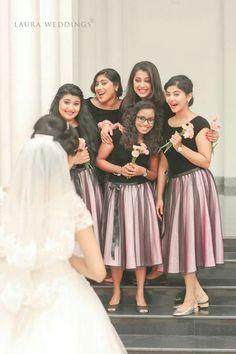 Indian Wedding Bridesmaids, Bridesmaid Saree, Wedding Bridesmaid Dresses, Kasavu Saree, Lehenga Choli, Skirt And Top Dress, Gown Party Wear, Wedding Frocks