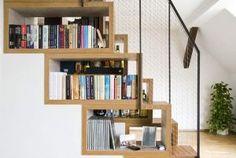 Home organisation ideas - mylusciouslife.com - via freshome.com stair storage ideas6.jpg