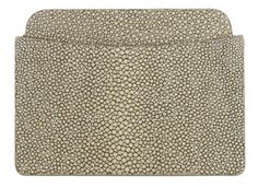 Shagreen Slotted Card Case