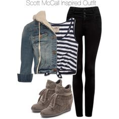 """Teen Wolf - Scott McCall Inspired Outfit"" by staystronng on Polyvore"