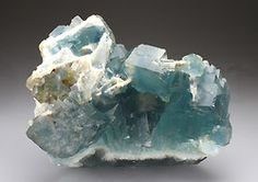 FLUORITE    Le Beix Mine, Lastic, Puy De Dome, Auvergne, France, Europe