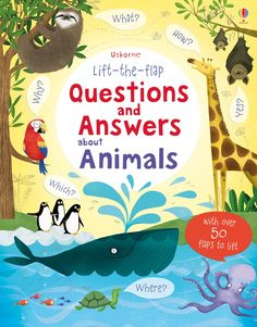 "Find out more about ""Lift-the-flap questions and answers about animals"", write a review or buy online."