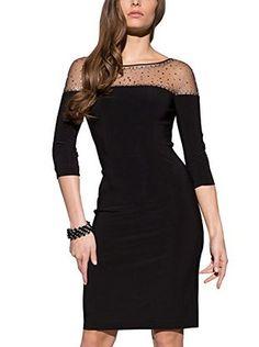 APART Fashion Vestido Tubo (Negro)