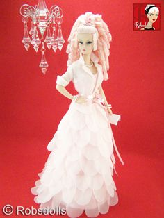 Pretty in Pink Barbie Convention Auction Doll