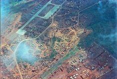 Beautiful photo of the Marine base at Khe Sanh
