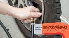 Kontrollera dina däck en punktering eller blowout kan vara riktigt farligt på en väg resa. Se till innan du beger dig ut på semester att dina däck är i gott skick. Kontrollera slitbanan genom att sätta in ett öre i din däckets slitbana. Om du kan se alla Lincolns huvud, är det dags att få nya däck. #dubbdäcken