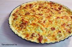 Käse-Tomaten-Lauche-Quiche
