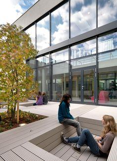SENIOR HIGH SCHOOL NEULENGBACH by SHIBUKAWA EDER Architects