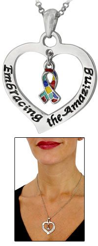 Embracing the Amazing Autism Awareness Necklace at The Autism Site