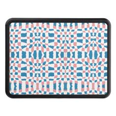 Pink & Blue Weave Pattern Hitch Cover Exterior Car Accessories, Blue Weave, Trailer Hitch, Small Cars, Baby Accessories, Keep It Cleaner, Pink Blue, Weaving, Amp