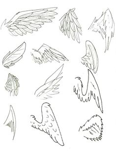 How To Draw Anime Wings Draw An Anime Angel Step By Step Anime