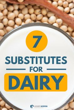 Some people can't tolerate dairy or choose not to eat it for other reasons. This article lists substitutes for 7 common dairy foods: https://authoritynutrition.com/dairy-substitutes/