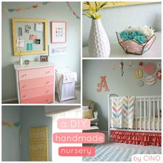 There are SO many good DIY project tutorials here, it's amazing! Worth taking a look even if you aren't making a nursery