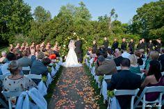 Garden Ceremony - #weddings #ceremony Formal Gardens, Raspberry, Dolores Park, Weddings, Raspberries, Mariage, Wedding, Marriage