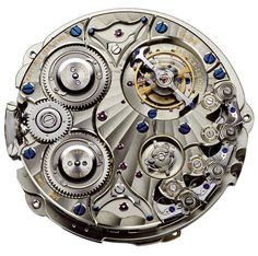JLC Hybris Mechanica à Grande Sonnerie Movement (Back Side)...the most expensive watch as of today ... US$2.5mm
