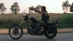 Triumph 71 motor 69 - The Walking Dead - Daryl Dixon