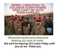 God Bless our Deployed Soldiers!