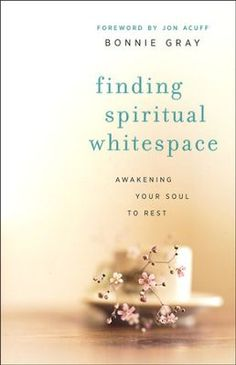 "Bonnie Gray in her new book, ""Finding Spiritual Whitespace"" published by Revell helps us Awakening Your Soul to Rest. From the Back Cover:   Move beyond Surviving to a Rejuvenating Place of Soul Re..."