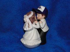 balitgimore ravens cake topper | New Baltimore Ravens Kissing Bride and Groom Figurine | eBay