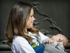 Princess Sofia & Baby Alexander  On National Day In Sweden..