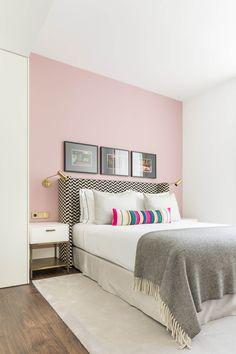 The Lumiares Hotel & Spa, Bairro Alto, Lisbon - Explore & Book Bedroom Wall Colors, Room Ideas Bedroom, Small Room Bedroom, Home Decor Bedroom, Small Rooms, Dream Rooms, Dream Bedroom, Teen Bedroom Designs, Minimalist Bedroom