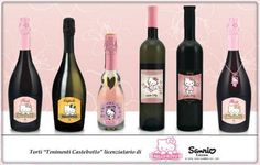 Lanzan vino temático de Hello Kitty