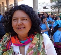 Berta Cáceres, Honduran human rights and environment activist, murdered Cáceres, who was awarded the Goldman Environmental Prize for her opposition to one of Central America's biggest hydropower projects, was shot at home