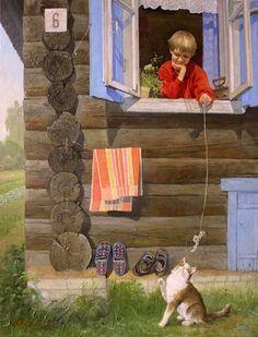 Summer Vacations-Tatiana Deriy (1973, Russian)
