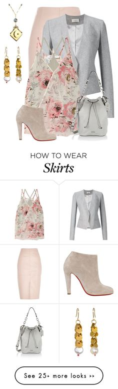 """Untitled #1904"" by anfernee-131 on Polyvore featuring River Island, Thierry Mugler, Bailey 44, Just Jules, Karl Lagerfeld and Christian Louboutin"
