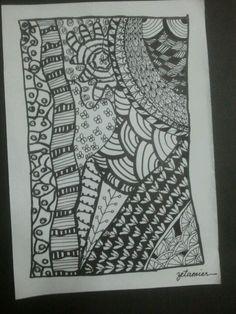 zentangle doodle @ sunway