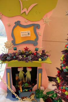 i want my house to look like a whoville house for christmas