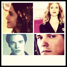 Vampire academy collage