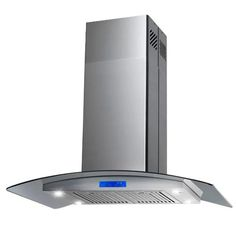 "AKDY 30"" 343 CFM Convertible Island Range Hood & Reviews 
