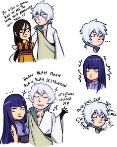 Adventures of Toneri and Unimpressed Hyuuga Sisters by gabzillaz. Gabzillaz's Hinata and sister from Naruto The Last Movie. Found on: http://gabzilla-z.tumblr.com/post/103096766349/adventures-of-toneri-and-unimpressed-hyuuga  Artist's Tumblr Page: http://gabzilla-z.tumblr.com/post/85601754894/tag-list