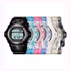 Buy Casio Baby-G Series Wrist Watch Ladies Women Sport in Kuala Lumpur,Malaysia. SERIES water resistant models The faces of these new water resistant Baby-G models feature eye-catching vivid colors. Metal rings Chat to Buy Luminous Colours, Vivid Colors, Baby G, Casio Watch, Sports Women, Counter, Bands, Wire, Popular