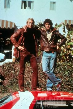 Starsky and Hutch - Best show ever! Love Starsky (dark haired one for you young ones!)