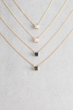 Lovoda - Cube Stone Necklace, $20.00 (http://www.lovoda.com/cube-stone-necklace/)