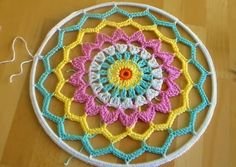 Make your own crochet dreamcatcher Dreamcatchers are said to act as dream filters, allowing only good dreams to reach the sleeper! Try making this easy crochet dreamcatcher and put it to the test!