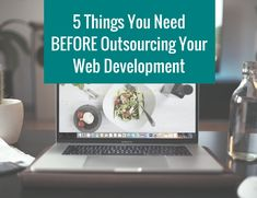 Outsource your website to a professional can feel like it involves a lot of time, planning, costs and stress. It really shouldn't! As long as you're aware of a few key things the process should be simple and stress-free. Here are 5 crucial things to know before outsourcing your web development...
