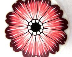 Polymer clay flower cane