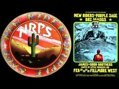 New Riders Of The Purple Sage - 1971 Fillmore West, SF