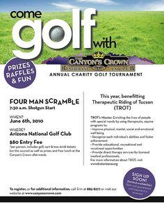 golf tournament flyer charity golf tournament flyer flickr photo sharing
