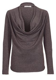 Stefanel - Pullover brown melange