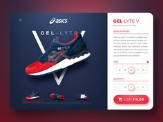 Asics Product Page
