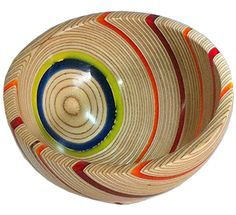 wood turning ideas - Google Search [Once in a while plywood can be used productively; here is an example]
