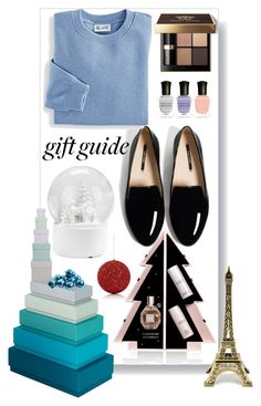 """gift for besties"" by erliza on Polyvore featuring Viktor & Rolf, HAY, Bobbi Brown Cosmetics, Deborah Lippmann, Blair, GlucksteinHome and Gold Eagle"