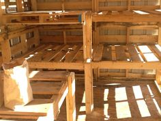 """A wise man once said that """"a man's shed is his castle"""" well, actually, they didn't, but they should have. A good shed is a simply a Pallet Barn, Pallet Shed, Pallet House, Pallet Building, Building A Shed, Farm Show Magazine, Lumber Rack, Man Shed, Clutter Solutions"""