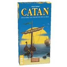 Devir – Catan Sailors, Magnification for 5 to 6 Players Marvel Dc, Dc Comics, Childrens Ebooks, Expansion, Amazon Image, Miguel Angel, Table Games, The Expanse, Board Games